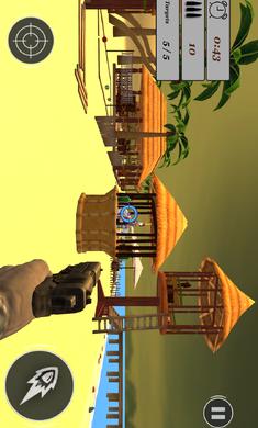 专家瓶射击训练:FPS枪射击游戏