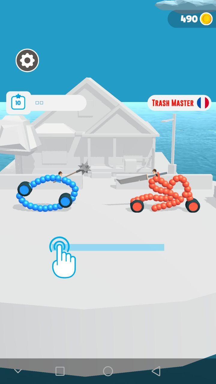 手绘战车无限金币版游戏截图