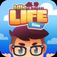 空闲生活模拟游戏钞票无限破解版图标